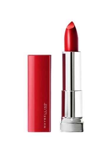 Maybelline Maybelline New York Color Sensational Made For All Ruj - 385 Ruby For Me (Saten Kırmızı) Kırmızı
